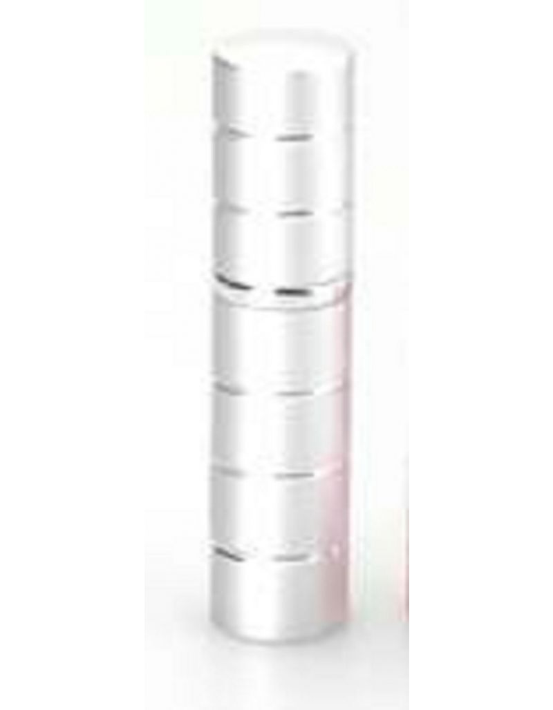 Silver Matte and Polished 5ml Perfume Atomizer