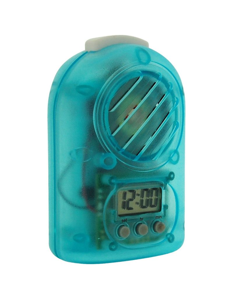 Citron Girls - Boys Blue Digital Travel Talking Alarm Clock CLK15B