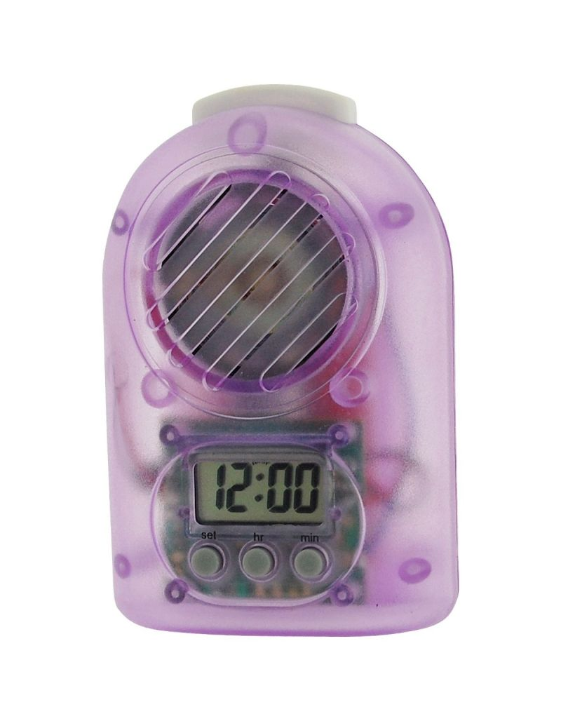 Citron Girls - Teens Purple Digital Travel Talking Alarm Clock CLK15E