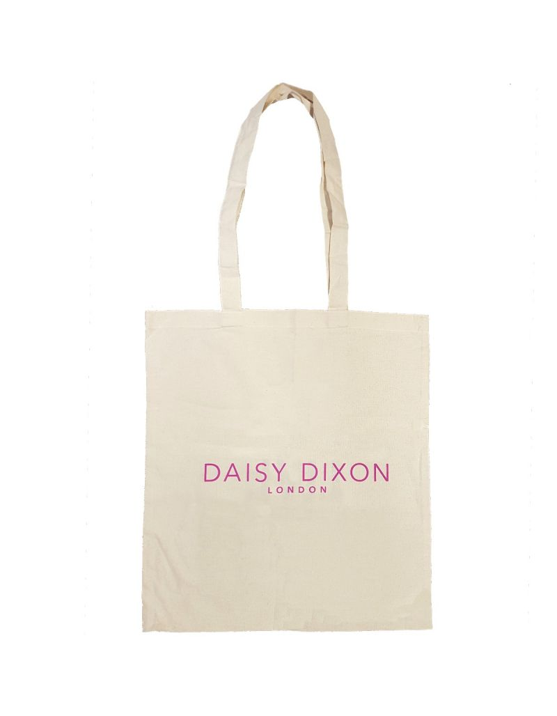 "Daisy Dixon London Ladies - Girls Tote Shopping Bag  ""We Live Fashion"" SC1714"