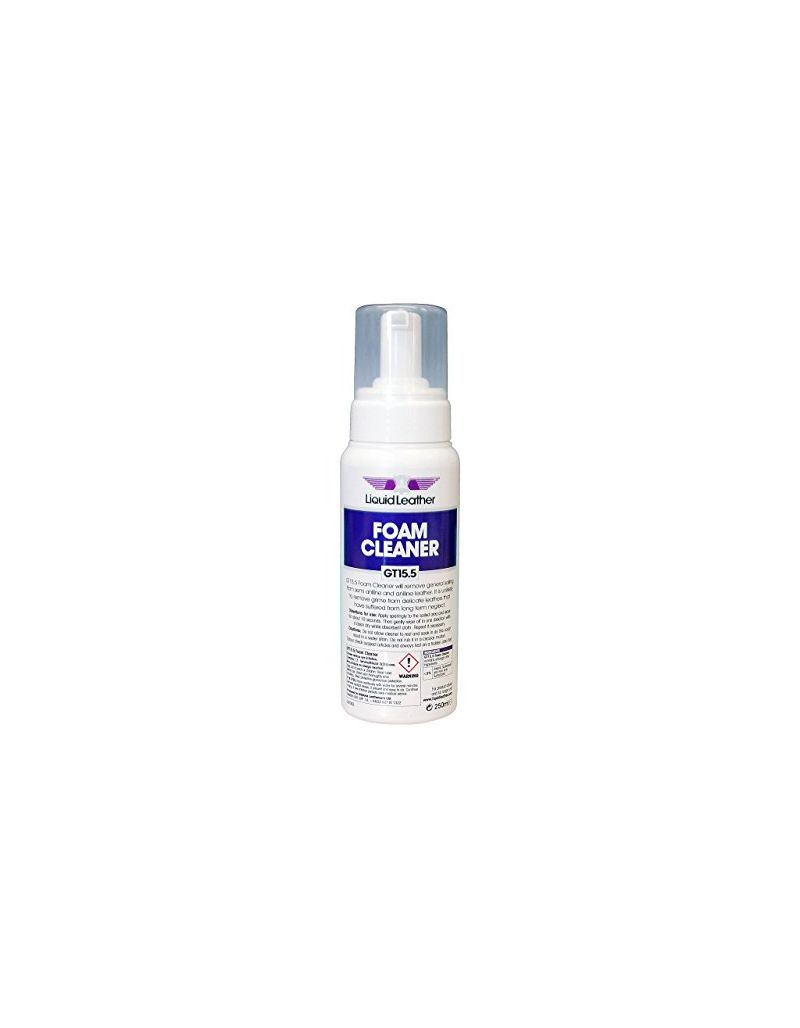 GT15.5 Liquid Leather Foam Cleaner 250ml By Gliptone Leathercare