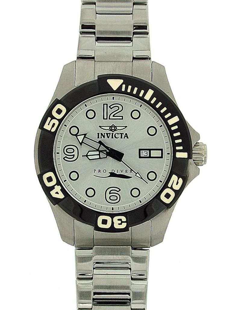 Invicta 'Speciality' Gents Pro Diver Stainless Steel Analogue Date Watch INV0444