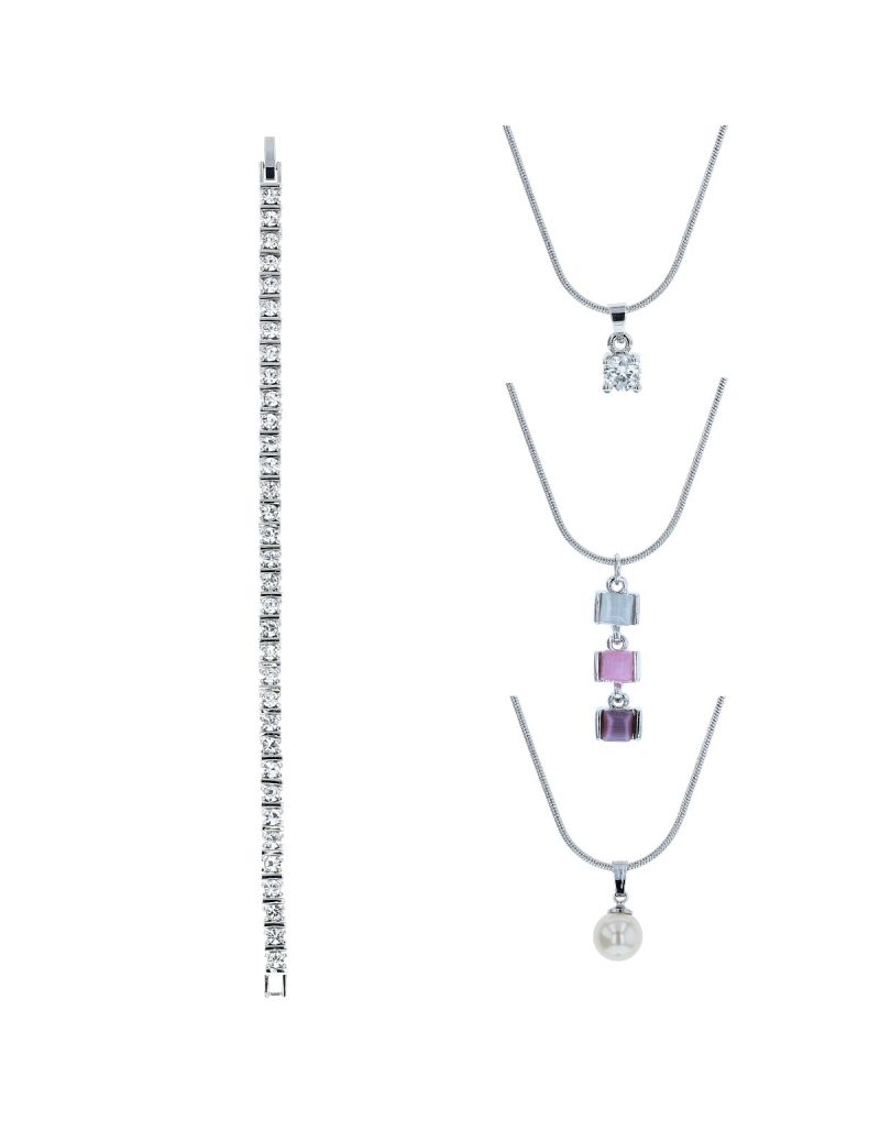 Set of 5 Pierre Cardin Ladies Pendant Jewellery Set Christmas Gift for her PXX0041M