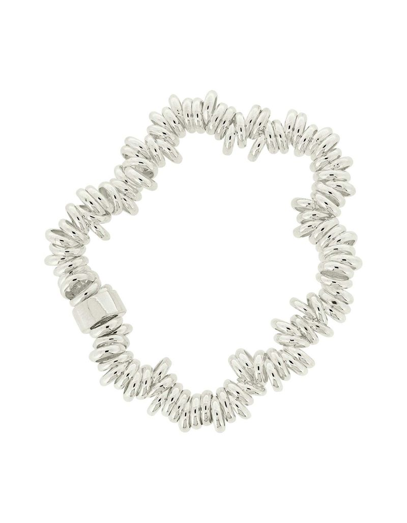 The Olivia Collection 23-26 Gram Sterling Silver Candy Bracelet 7""