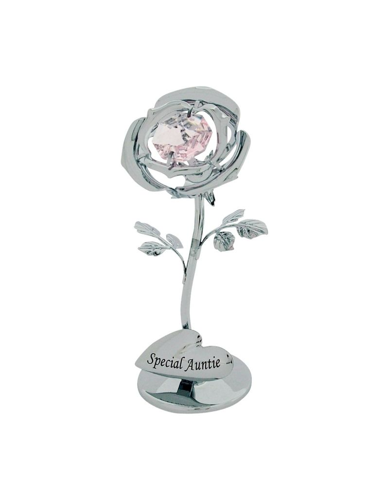 Crystocraft Celebration Rose - Special Auntie