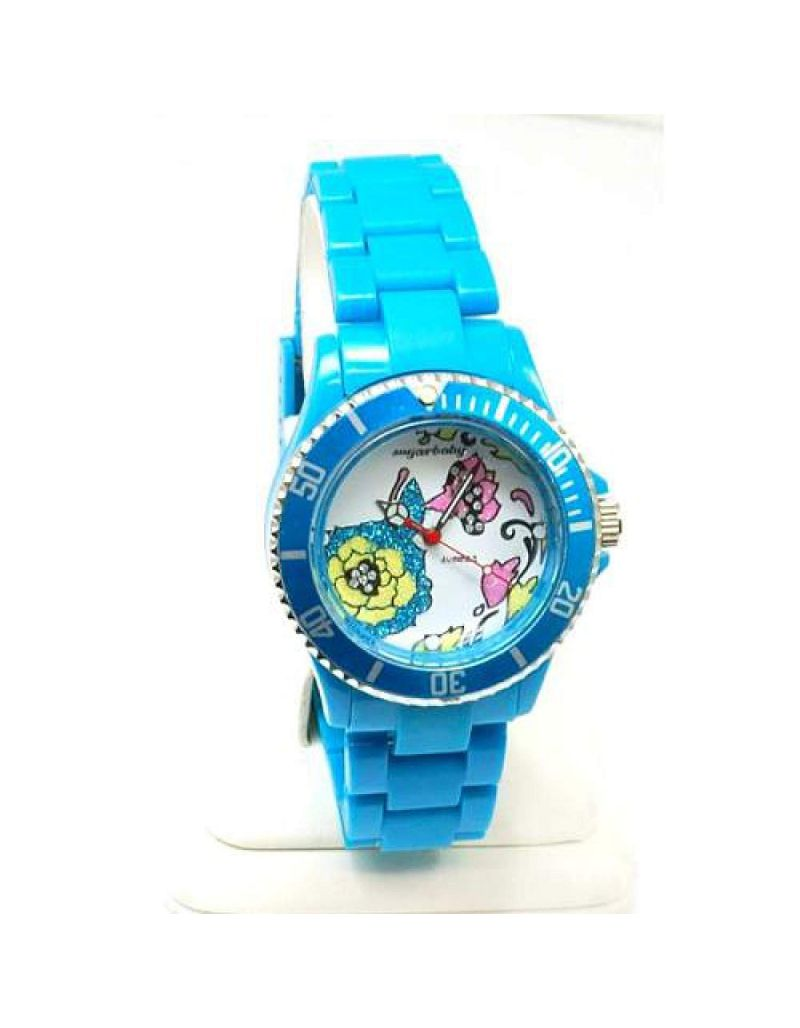 Sugarbaby 'Summer' Torquoise Strap Ladies Fashion Watch