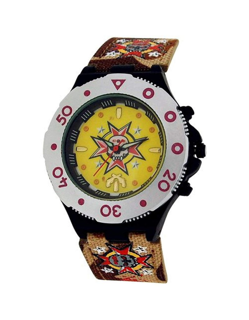 Call Of Duty Boy's Brown Cameo Pistol Icon Analogue Watch