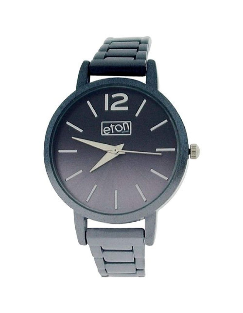Eton Ladies Analogue Grey Shaded dial & Shaded Plated Bracelet Strap Watch 3263L