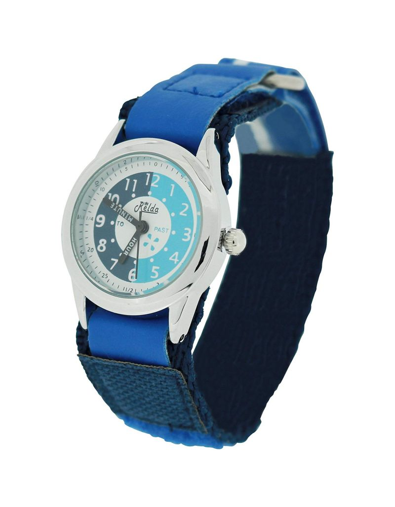 10X Bulk For School Relda Time Teacher Blue Kids Children Boys Girls Watch Award