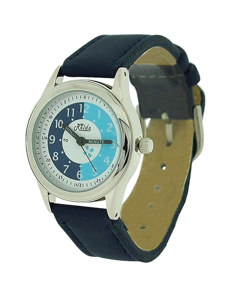 10X Bulk For School Relda Time Teacher Navy Children Kids Boy Girl Watch + Award