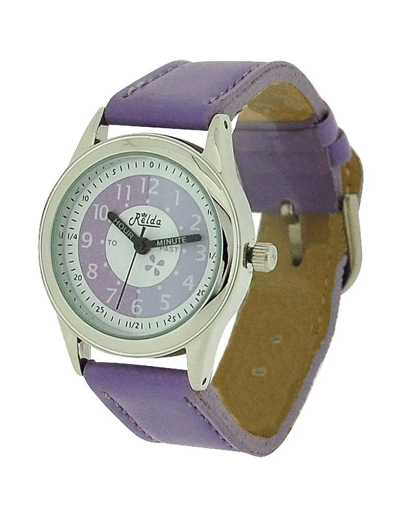 10X Bulk For School Relda Time Teacher Lilac Kid Children Boy Girl Watch + Award