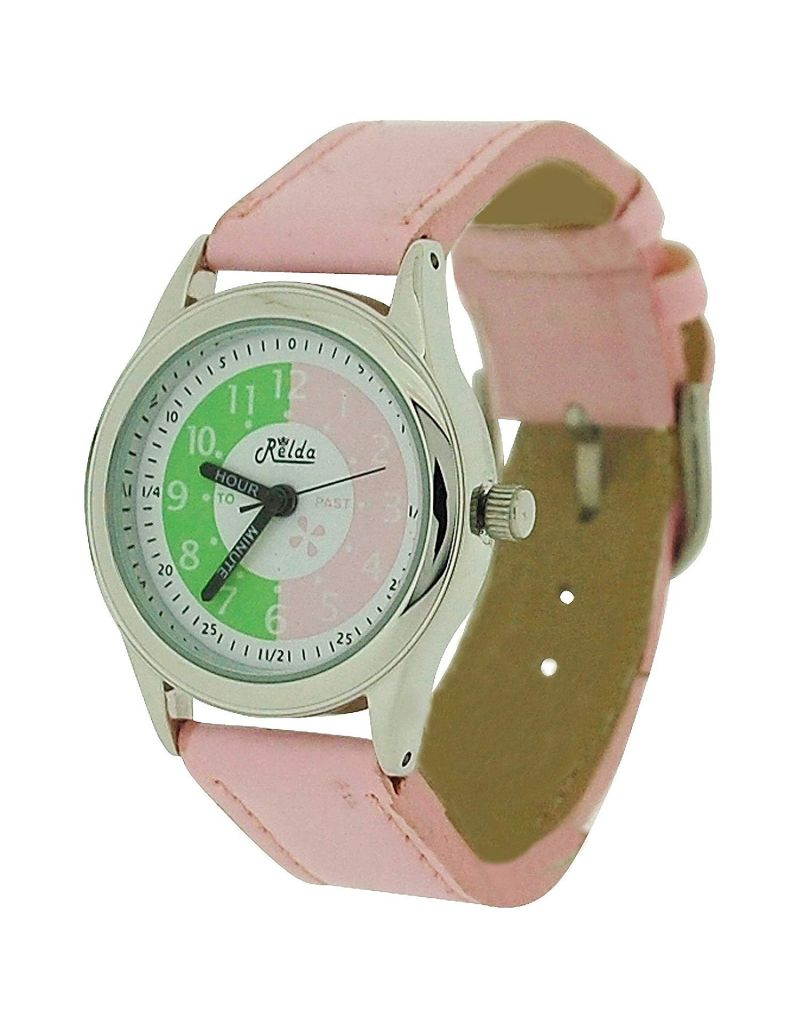 10X Bulk For School Relda Time Teacher Pink Kd Children Boys Girls Watch + Award