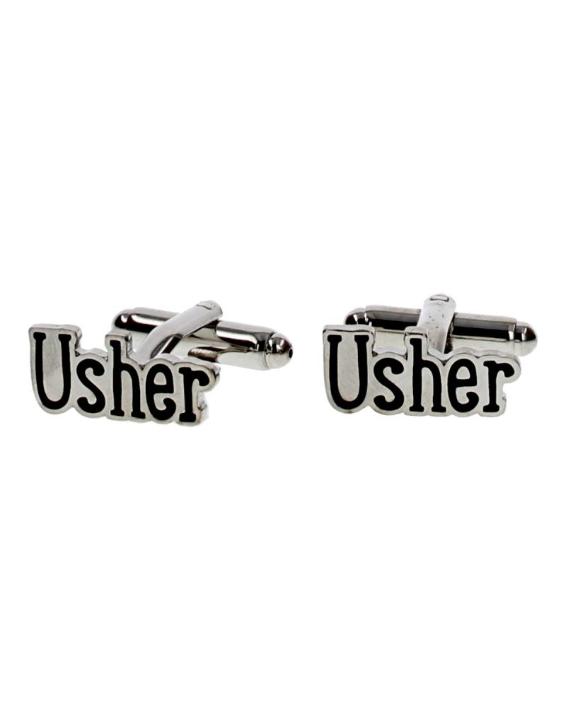 """Usher"" Cufflinks from the Wendy Jones-Blacket Collection, In Presentation Box  WJ156"
